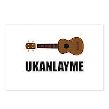 Ukanlayme Ukulele Postcards (Package of 8)