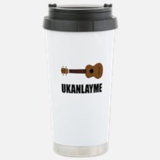 Ukanlayme Ukulele Travel Mug