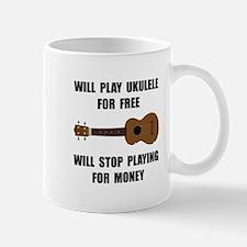 Ukulele Playing Mug
