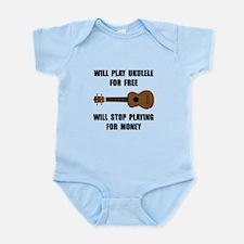 Ukulele Playing Infant Bodysuit