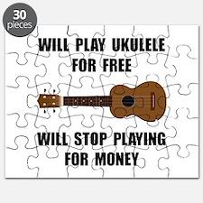 Ukulele Playing Puzzle