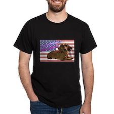 Flag Dachshund T-Shirt