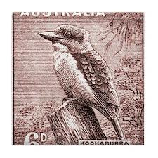 Cool Postage stamps Tile Coaster