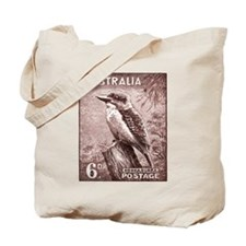 Antique postage stamp Tote Bag
