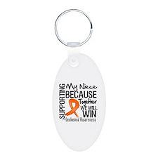 Support Niece Leukemia Keychains