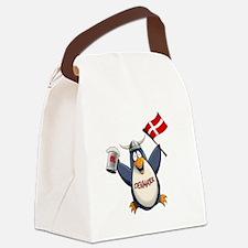 Denmark Penguin Canvas Lunch Bag