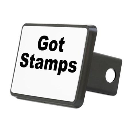 Got Stamps Rectangular Hitch Cover
