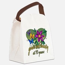 GraceButterfly70.png Canvas Lunch Bag