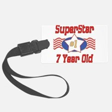 SUPERSTARbirthday7.png Luggage Tag