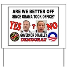 DUMB O'MALLEY Yard Sign