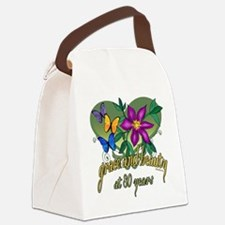GraceButterfly80.png Canvas Lunch Bag