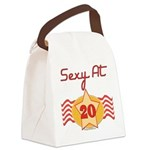 SEXYat20.png Canvas Lunch Bag