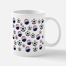 Paraguay Soccer Balls Mug
