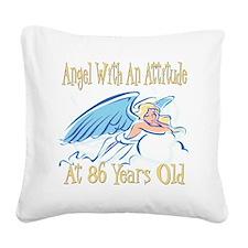 AngelAttitude86.png Square Canvas Pillow
