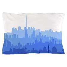 City Skyline Pillow Case