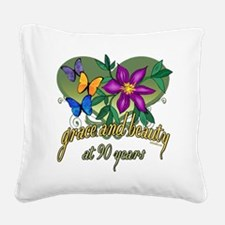 GraceButterfly90.png Square Canvas Pillow