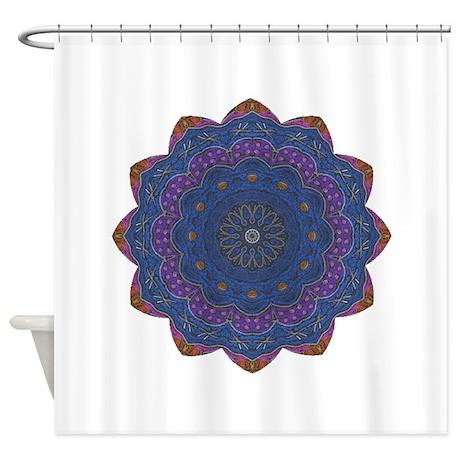 Alchemy Petal Mandala Shower Curtain