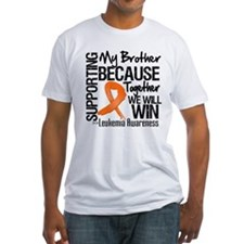 Support Brother Leukemia Shirt