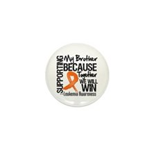 Support Brother Leukemia Mini Button (10 pack)