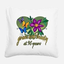 GraceButterfly95.png Square Canvas Pillow