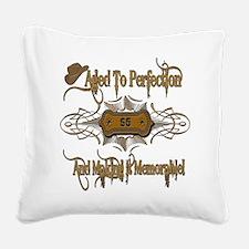 MemorableAged95.png Square Canvas Pillow