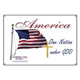One nation under god Banners