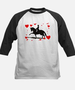 Dressage and Hearts Tee