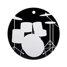 Drumset Ornament (Round)