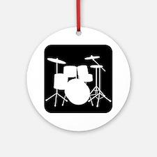 Drumset Ornament (Round)