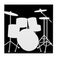 Drumset Tile Coaster