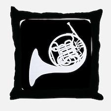 Horn Throw Pillow