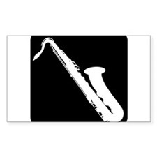Saxophone Decal