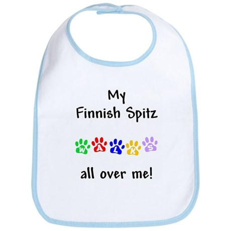 Finnish Spitz Walks Bib