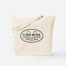 Purr More Tote Bag