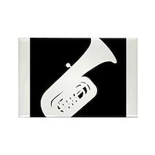 Tuba Rectangle Magnet