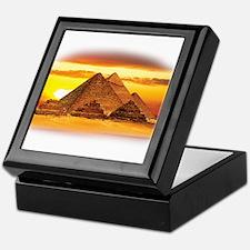 The Pyramids at Giza Keepsake Box