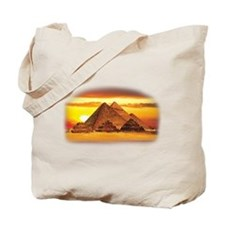 The Pyramids at Giza Tote Bag