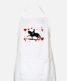 Dressage and Hearts Apron