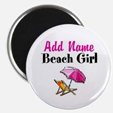 """BEACH GIRL 2.25"""" Magnet (10 pack)"""