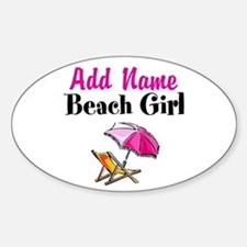 BEACH GIRL Decal