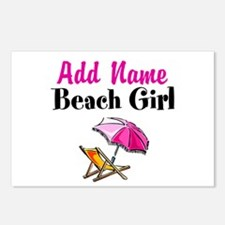BEACH GIRL Postcards (Package of 8)