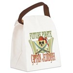 PirateJEDIDIAH.png Canvas Lunch Bag