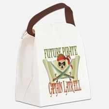 PirateLatrell.png Canvas Lunch Bag