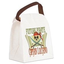 PirateLuciano.png Canvas Lunch Bag