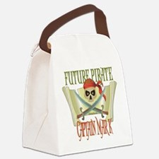 PirateMark.png Canvas Lunch Bag