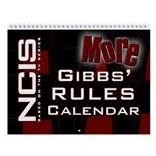 NCIS More Gibbs' Rules Wall Calendar