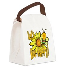 BumbleBeeLetsBeeHappy copy.png Canvas Lunch Bag