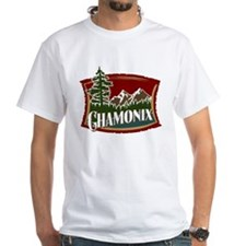 Chamonix Mountain Banner Shirt
