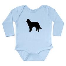 Pyrenean Shepherd Long Sleeve Infant Bodysuit
