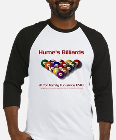 Hume's Billiards Baseball Jersey